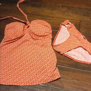 Maternity bathing suit-EUC